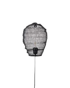 Meer Design Wandlamp Lena Black
