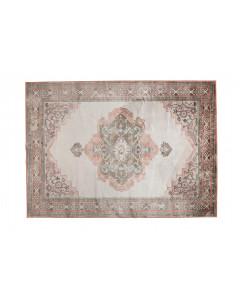 Dutchbone Vloerkleed Mahal 200x300 cm Pink/Olive