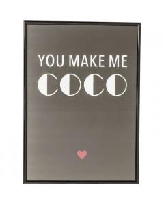 Kare Fotolijst You Make Me COCO