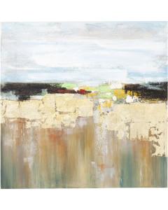 Kare Schilderij Abstract Landscape 120x120cm