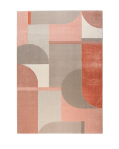 Zuiver Vloerkleed Hilton Grey/Pink 160x230cm