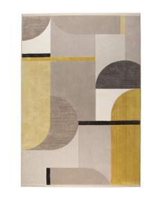 Zuiver Vloerkleed Hilton Grey/Yellow 160x230cm