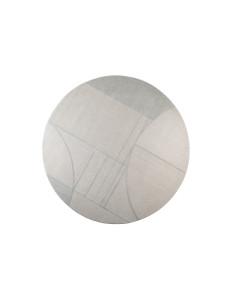 Zuiver Vloerkleed Bliss Round Grey/Blue 240cm
