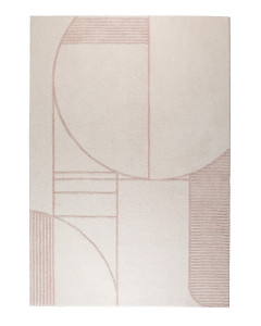 Zuiver Vloerkleed Bliss Natural/Pink 200x300cm