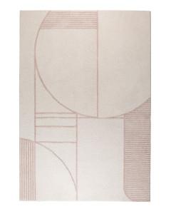 Zuiver Vloerkleed Bliss Natural/Pink 240x345cm