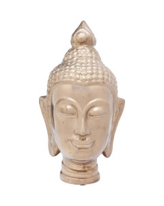 Kare Decofiguur Asia Head Gold