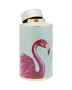 Kare Decoratiepot Flamingos 39cm