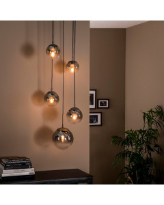 Meer Design Hanglamp Dexter Stepped Old Silver