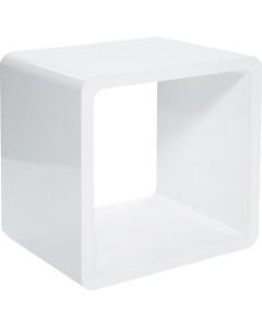 Kare Lounge Cube MDF White