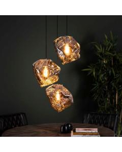 Meer Design Hanglamp Carter Chrome 3L