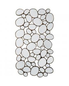 Kare Spiegel Water Drops Copper 135x78