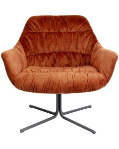 Kare Fauteuil Bristol Rust Red