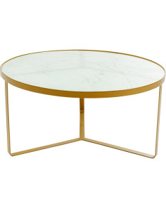 Kare Salontafel Marble Gold 55 cm
