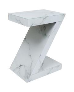 Kare Bijzettafel Luxury Z Marble