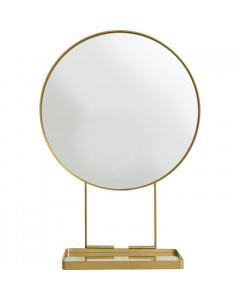 Kare Spiegel With Shelf Art Ø60cm