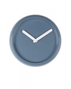 Zuiver Klok Ceramic Time Blue