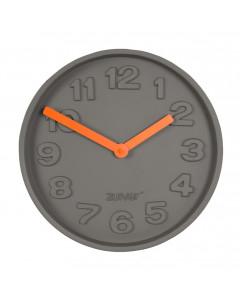 Zuiver Klok Concrete Time Orange