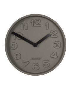 Zuiver Klok Concrete Time Black