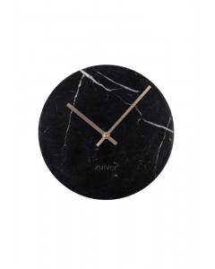 Zuiver Klok Marble Time Black