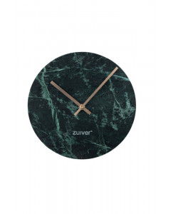 Zuiver Klok Marble Time Green