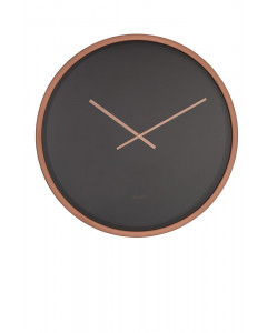 Zuiver Klok Time Bandit Black Copper