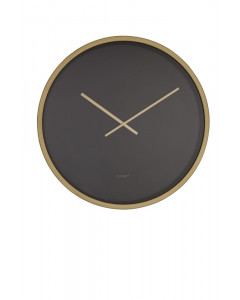 Zuiver Klok Time Bandit Black Brass