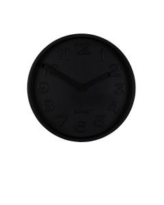 Zuiver Klok Concrete Time All Black