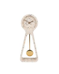 Zuiver Klok Pendulum Time Terrazzo White