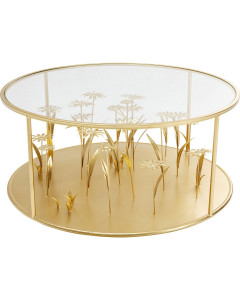 Kare Salontafel Flower Meadow Gold