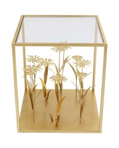 Kare Bijzettafel Flower Meadow Gold