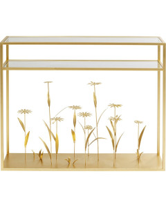 Kare Sidetable Flower Meadow Gold