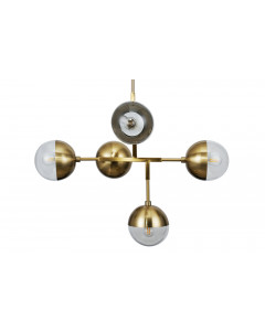 Be Pure Hanglamp Globular Metaal Antique Brass