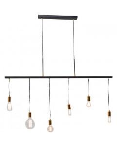 Kare Hanglamp Pole Black Six