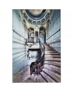 Kare Wandfoto Glass Old Staircase 120x80 cm
