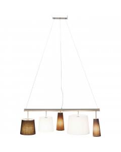 Kare Hanglamp Parecchi Silver 100 cm