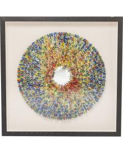 Kare Deco Frame Colour Explosion 120x120 cm