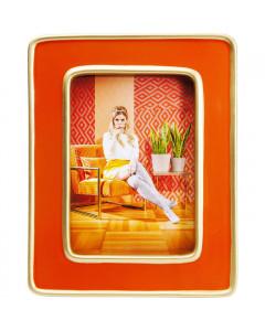 Kare Fotolijst Zebra Oranje