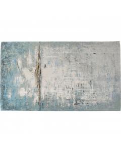 Kare Vloerkleed Abstract  Light Blue 240x170cm