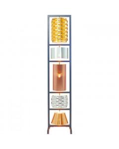 Kare Vloerlamp Parecchi Glamour Zwart Small 180cm