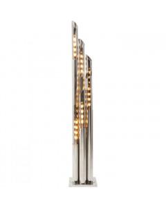 Kare Vloerlamp Pipe Chrome 175cm