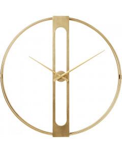 Kare Klok Clip Gold Ø60cm