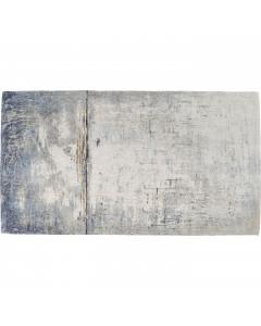 Kare Vloerkleed Abstract Dark Blue 240x170cm