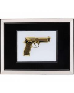 Kare Fotolijst Mirror Gun Gold 80x60 cm