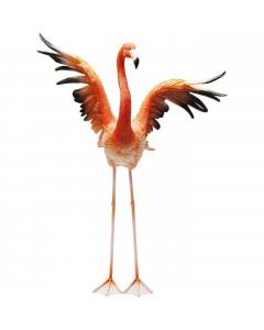 Kare Decofiguur Flamingo Road Fly 66 cm