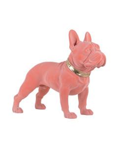 Richmond Decofiguur Dog Spike Pink