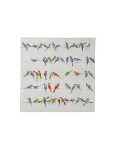 Kare Schilderij Touched Birds Meeting