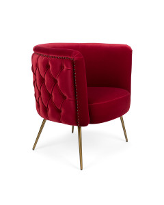 Bold Monkey Fauteuil Such A Stud Red