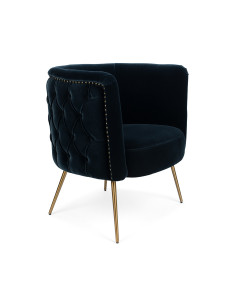 Bold Monkey Fauteuil Such A Stud Dark Blue
