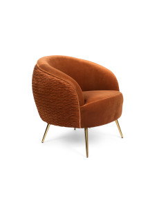 Bold Monkey Fauteuil So Curvy Orange