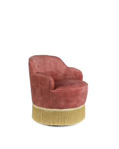 Bold Monkey Fauteuil Fring Me Up Old Pink